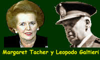 Tacher  y Galtieri