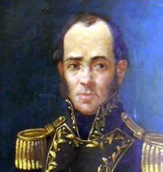 Retrato de Juan Ramón Balcarce.